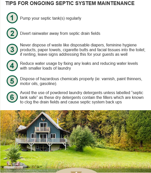 Don 39 T Let Septic Systems Be A Drain On Your Cottage